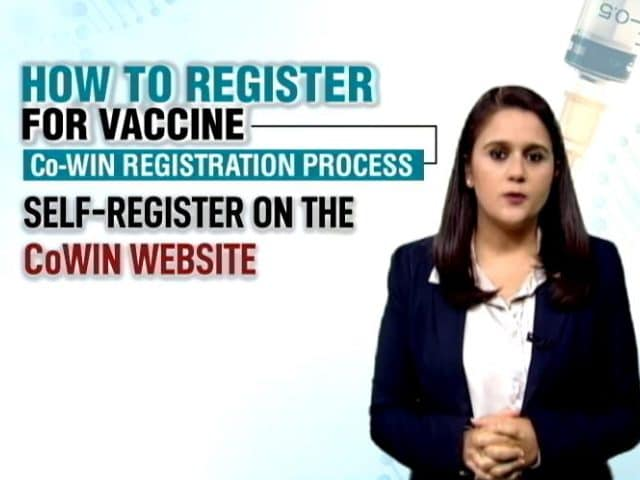 Video : How To Register For Covid Vacccine Once Co-WIN Is Launched For Public