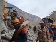 """""""Shine The Light..."""": Race To Save People Trapped In Uttarakhand Tunnel"""