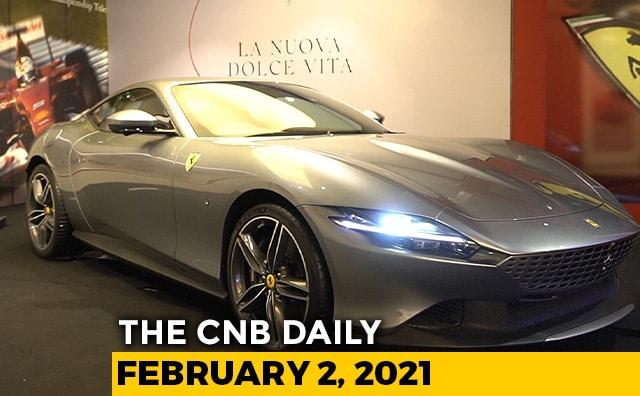 Video : Ferrari Roma Launch | Re-Registering Old Vehicles | Tata Sales January 2021