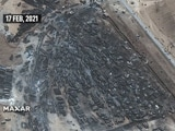Video : Satellite Pics Show 500 Oil Tankers Destroyed On Afghanistan-Iran Border