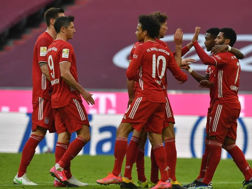 Bayern Munich were confirmed as Bundesliga champions for the ninth straight season Saturday after Borussia Dortmund beat second-placed RB Leipzig 3-2.