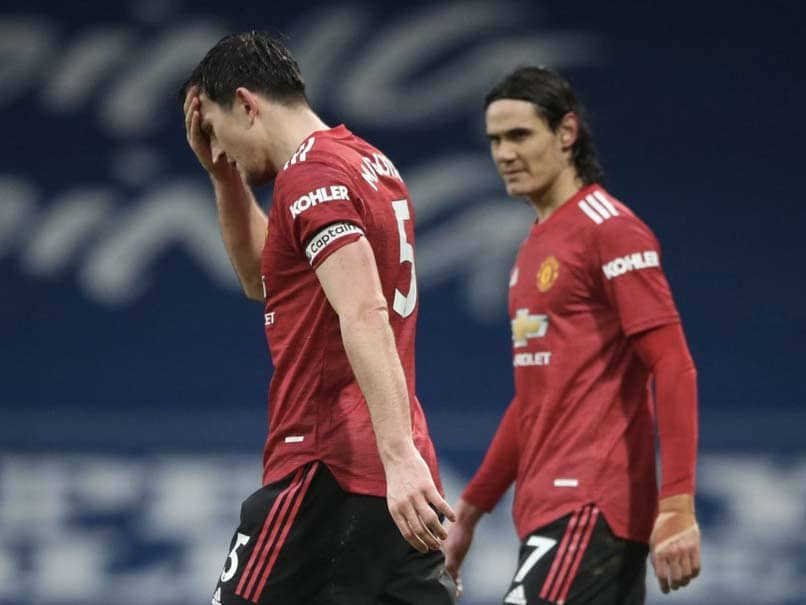 Manchester Uniteds Premier League Title Bid Damaged By West Brom Draw