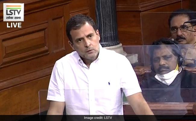 """""""4 People Run This Country – Hum Do, Hamare Do"""": Rahul Gandhi's Jibe"""