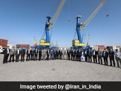 India Hands Over Mobile Harbour Cranes To Chabahar Port Authorities