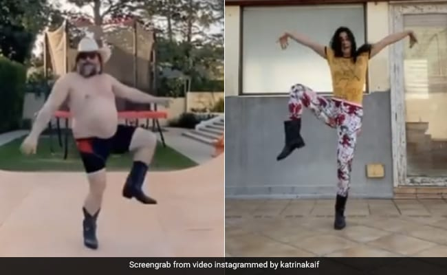 Katrina Kaif Recreated Jack Black's 'Stay At Home' Dance Routine. The Result...