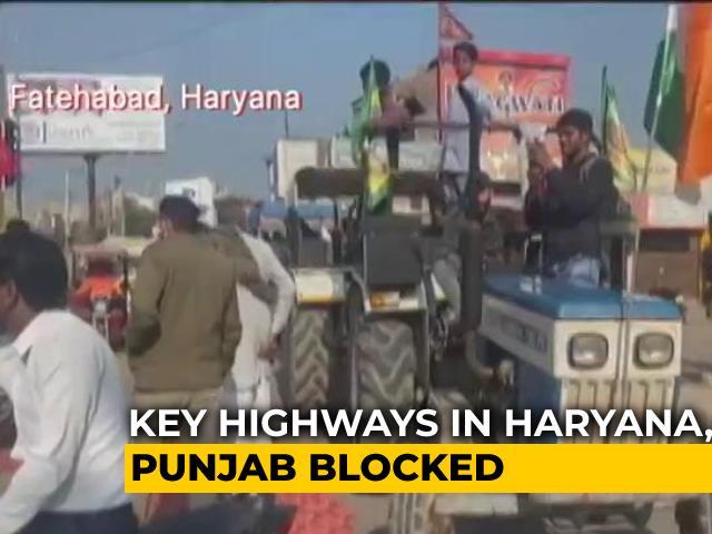 Video : <i>Chakka</i> Jam Of Highways Ends, Delhi Under Security Blanket