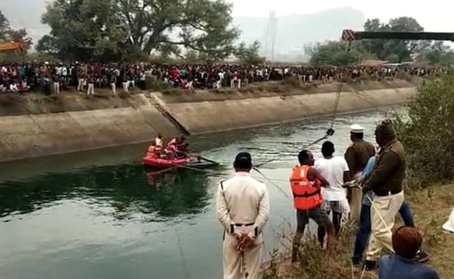 51 Dead As Bus Falls Into Canal In Madhya Pradesh