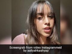 Aaliyah Kashyap Debuts New Bangs And Sets Short Hairstyle Goals