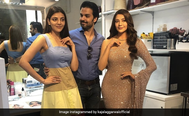 Will The Real Kajal Aggarwal Please Stand Up? Gautam Kitchlu's Face Gives It Away - NDTV