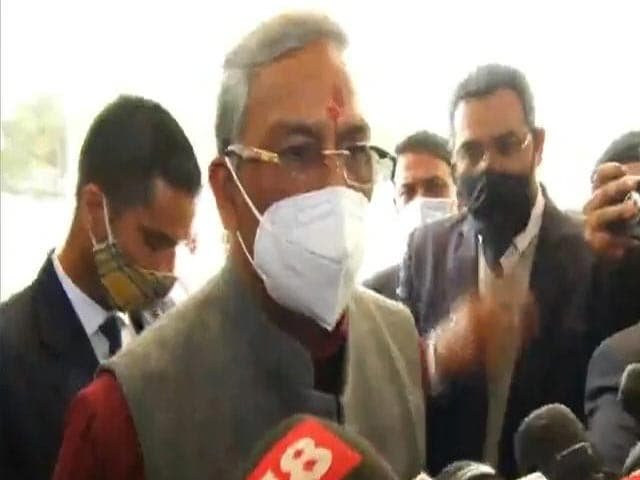 Video : Uttarakhand Floods: Flow From Tehri Dam Stopped As Precautionary Measure, Says Chief Minister