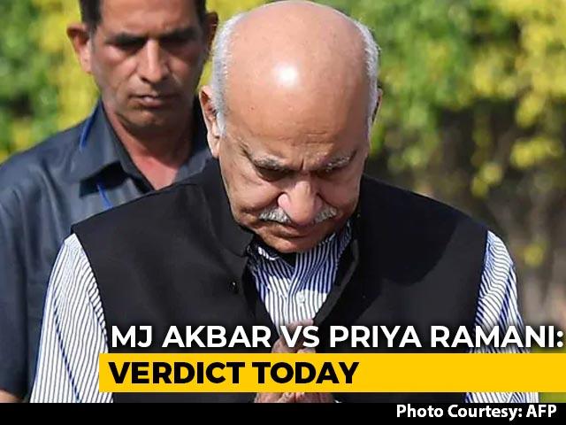 Video : Delhi Court Verdict In MJ Akbar's Defamation Case Against Priya Ramani Today