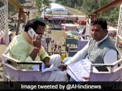Viral Video: To Get Cellphone Signal, What A Minister Had To Do
