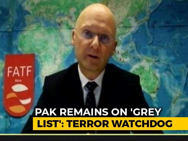 """Video : """"Serious Deficiencies"""": Terror Funding Watchdog Keeps Pak On """"Grey List"""""""