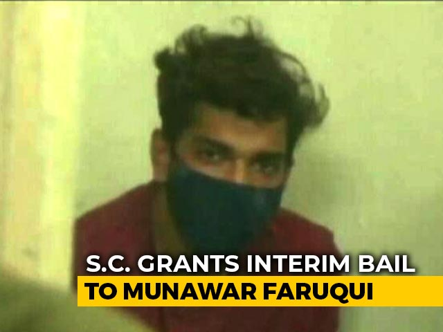Video : Comic Munawar Faruqui Gets Bail From Supreme Court After Month In Jail