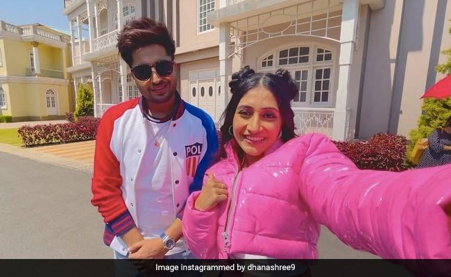 Dhanashree Verma Dance Video: Dhanashree first gave big news and then started dancing with Punjabi singer