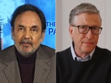 "Video : Prannoy Roy Talks To Bill Gates On Pollution, ""Climate Pandemic"""