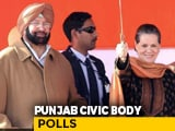 Video : Congress Sweeps Punjab Urban Polls. Amarinder Singh Says '2022 Teaser'