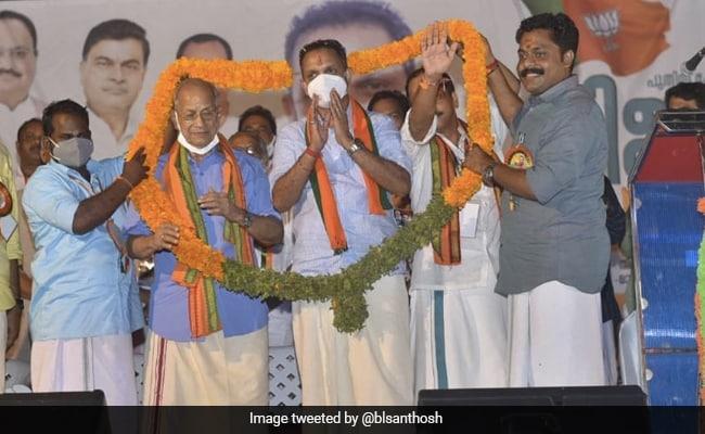 'Metro Man' E Sreedharan Joins BJP In Kerala