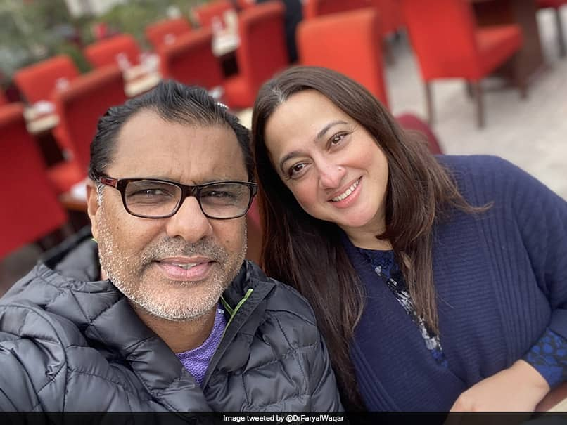"""""""Two Of My Fav"""": Sania Mirza Wishes Waqar Younis And His Wife On Their Anniversary"""
