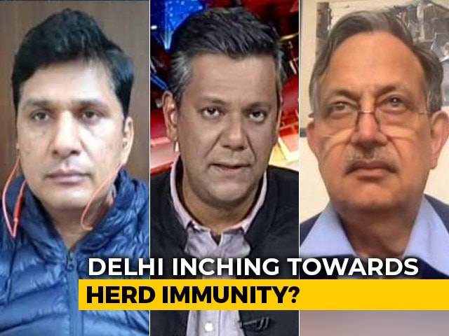 Video : COVID-19 Infections Dip Sharply In Delhi
