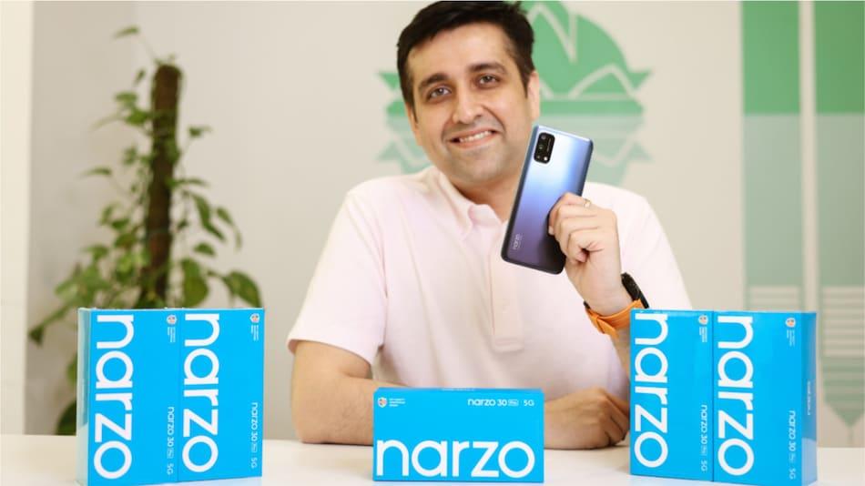 Realme Narzo 30 Pro 5G ऑफिशियली रिवील, लॉन्च से पहले ये लोग कर सकेंगे इस्तेमाल