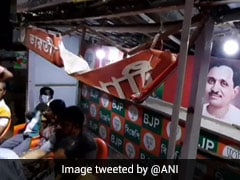 BJP Office Vandalised In West Bengal, Party Alleges Trinamool's Hand