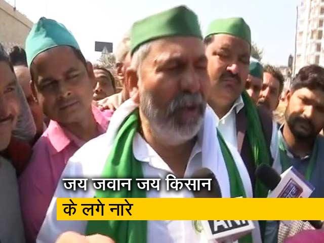Video : शांतिपूर्ण तरीके से किया जा रहा है चक्का जाम: राकेश टिकैत, किसान नेता
