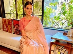 """""""<I>Pyaar</i>"""": Dia Mirza's One-Word Caption For Pic From Wedding Festivities"""