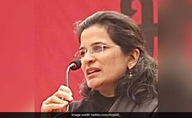 US Honours Activist Anjali Bharadwaj For Her Work On Combating Corruption - NDTV