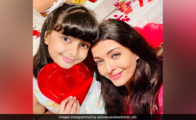 Meet Aishwarya Rai Bachchan's Valentine - 'Darling Angel' Aaradhya