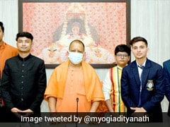 Yogi Adityanath Honours <i>Rashtriya Bal Puraskar</i> Awardees From UP