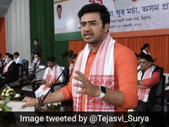"""Congress A Stooge, AIUDF Supports Mughals"": BJP's Tejasvi Surya In Assam"