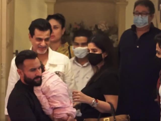 Video : Family, Friends Celebrate Randhir Kapoor's Birthday in Mumbai