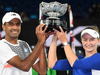 Australian Open: Barbora Krejcikova-Rajeev Ram Clinch Mixed Doubles Title