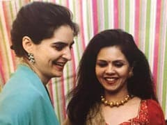 Priyanka Gandhi Shares Throwback Pics From Pre-Wedding Ceremony