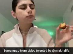 कांग्रेस द्वारा मिया खलीफा की फोटो को केक खिलाने का सच आया सामने, तो बोलीं- मुझे गुलाब जामुन खिलाया था...