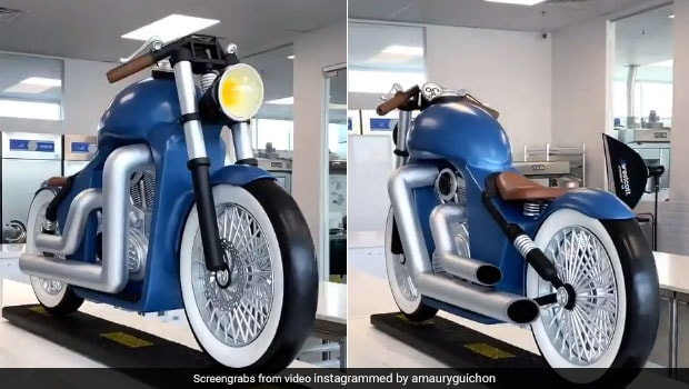 Watch: Pastry Chef Makes Chocolate Motorcycle And It Looks Too Good To Eat