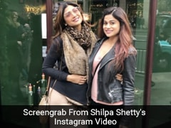Shilpa Shetty's Lunch Date With Shamita Shetty Was Full Of Valentine's Day Desserts