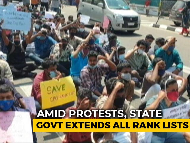 Video : Kerala Job Seekers' Protest Is Latest Flashpoint Between Left, Opposition