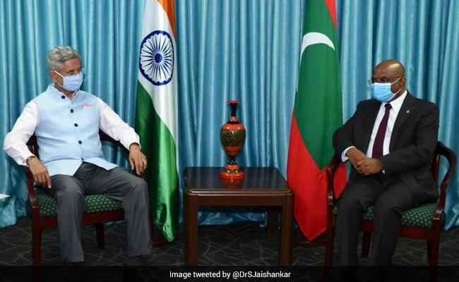 भारत ने मालदीव के साथ 5 करोड़ डॉलर के रक्षा ऋण सुविधा समझौते पर हस्ताक्षर किये