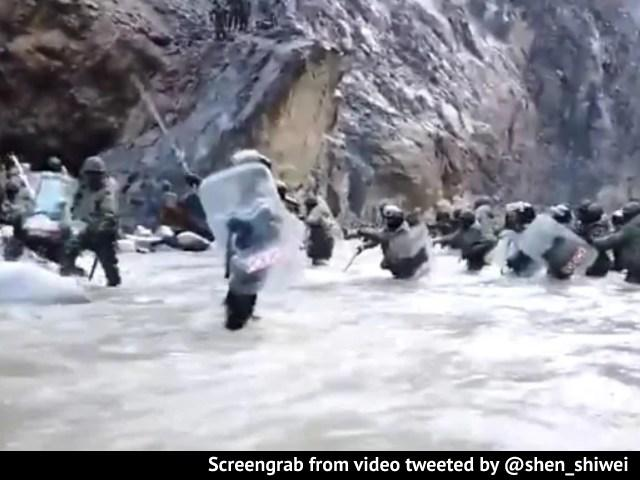 Video : China Releases Galwan Clash Video, Shows Confrontation With Indian Troops