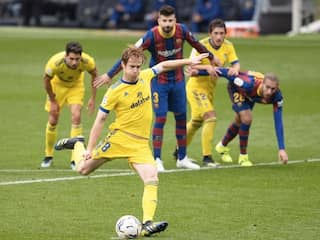 La Liga: Barcelona Hit By Late Penalty As Cadiz Snatch 1-1 Draw At Camp Nou