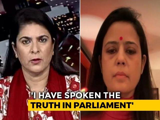 "Video : ""Don't Need Anyone To Tell Us What Slogan To Say"": Trinamool MP Mahua Moitra"