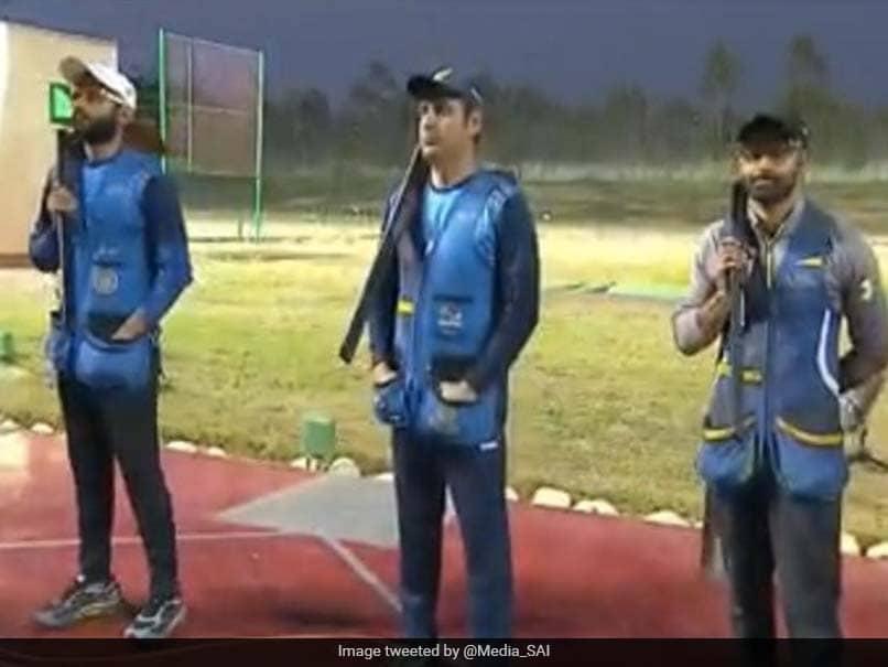 Indian Mens Skeet Team Wins Bronze In ISSF World Cup