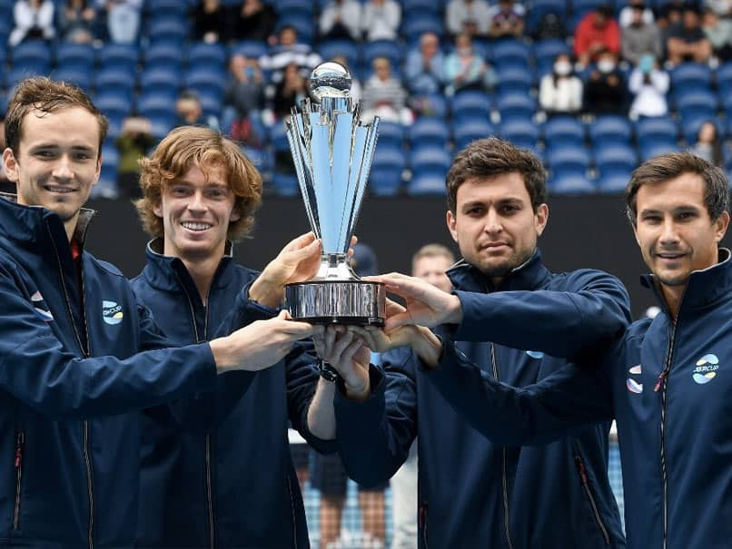 Daniil Medvedev, Andrey Rublev Fire Russia To Maiden ATP Cup Victory