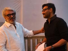 <I>Gangubai Kathiawadi</I>: Back On Sanjay Leela Bhansali's Set After Two Decades, Ajay Devgn Wrote This