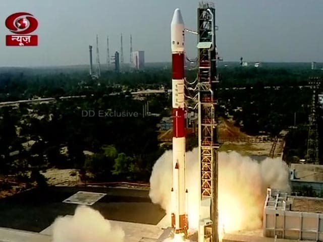Video : E-Gita, PM Modi's Picture, 19 Satellites: ISRO Flags Off 2021 In Style