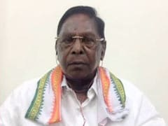 """MLAs Threatened"": V Narayanasamy To NDTV On Losing Power In Puducherry"