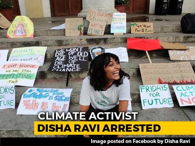 "Video : Activist Disha Ravi, 22, Sent To 5 Day Police Custody In ""Toolkit"" Case"