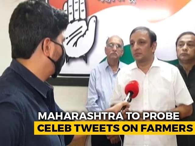 Video : Pressure On Celebs? Maharashtra Says Will Probe Tweets After Rihanna Post